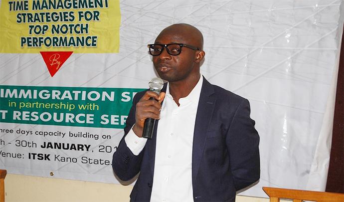Ayuba Fagbemi, The Managing Director/CEO, Instinct Resource Services